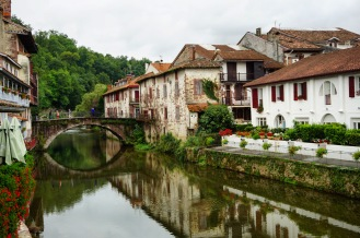 We took taxis from Pamplona to St. Jean Pied de Port, France, where the trail begins.